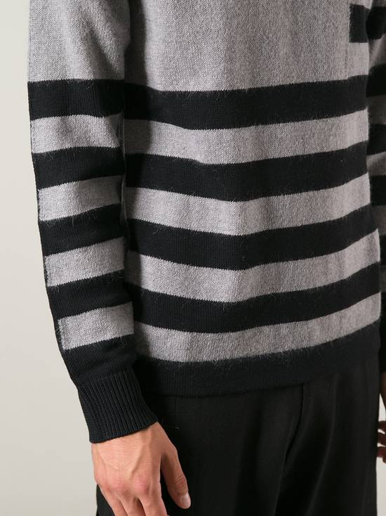 Givenchy Givenchy Striped Stars Wool and Mohair Cuban Fit Knit Sweater size XL (M / L) Size US XL / EU 56 / 4 - 2
