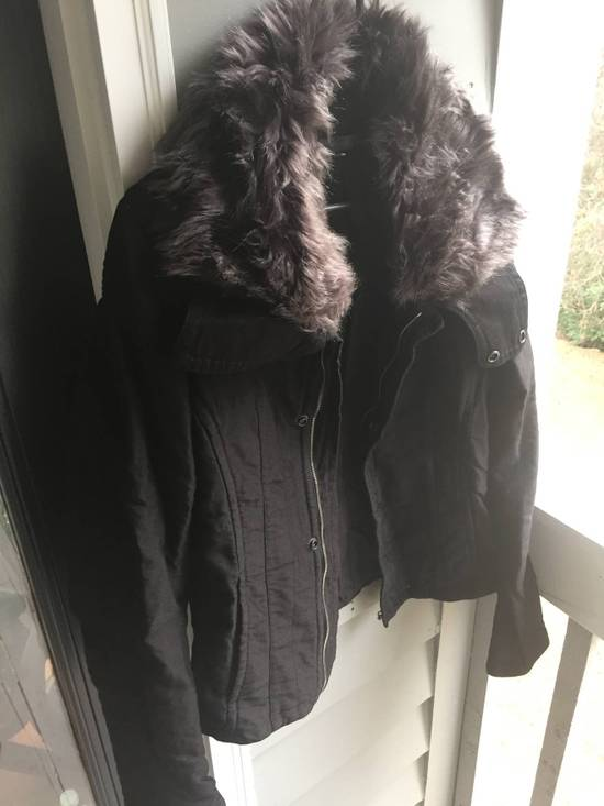Julius JULIUS Cotton Moleskine Fur Collar Jacket Size US S / EU 44-46 / 1