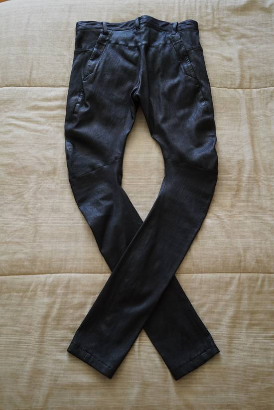 Julius Deerskin Leather Biker Pants Size US 30 / EU 46 - 7