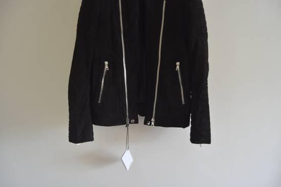 Balmain 1 of 1 Black Suede Biker Size US M / EU 48-50 / 2 - 2