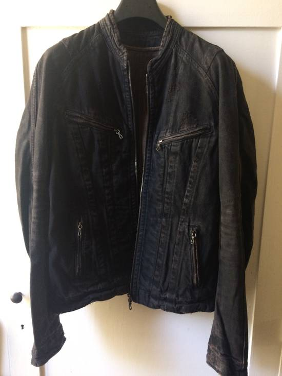 Julius Distressed Denim Jacket Size US M / EU 48-50 / 2