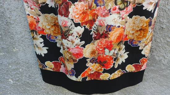 Givenchy $1050 Givenchy Floral and Butterfly Print Rottweiler Oversized Sleeveless Hoodie Top size S (M / L) Size US S / EU 44-46 / 1 - 13
