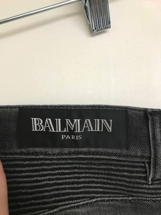 Balmain Decarnin era Balmain Biker Jeans Size US 31 - 2