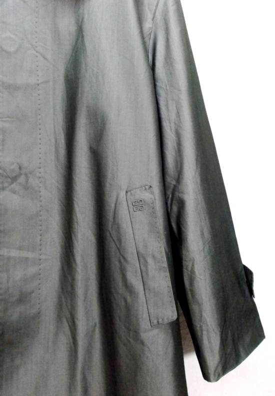 "Givenchy Final Drop..!! Luxury Brands Designer Givenchy Paris 2006. AW07 01-M 97334A Haris Gray Long Winter Trenchcoat L-24""x37"" Size US L / EU 52-54 / 3 - 4"
