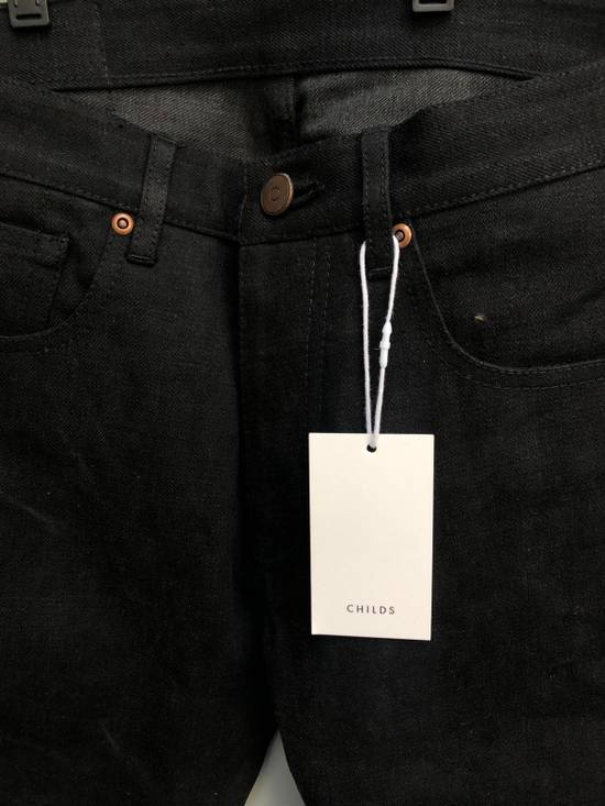 Thom Browne Black Denim Jeans MSRP $600 Size US 29 - 2