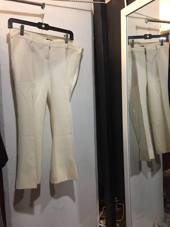 Balmain Balmain Off White Tuxedo Trouser Size US 36 / EU 52