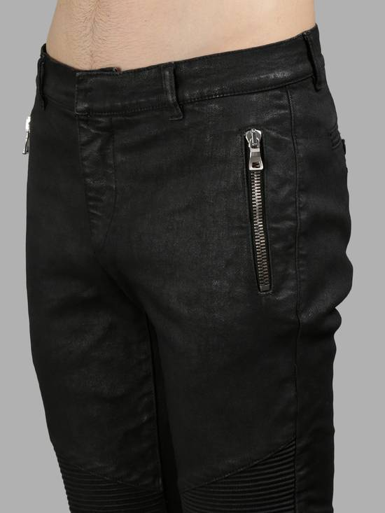 Balmain Waxed Denim Chinos Size US 28 / EU 44 - 2