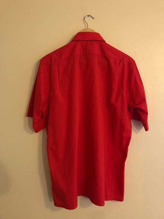 Givenchy Red Button Up Shirts Size US L / EU 52-54 / 3 - 1