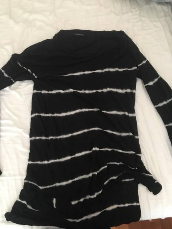 Balmain Tie-die Linen T-shirt Size US L / EU 52-54 / 3