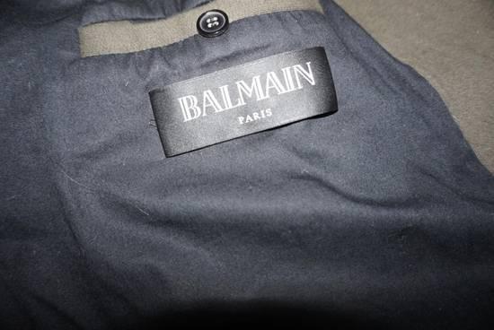 Balmain Balmain Kaki Green Shephard Coat Size US M / EU 48-50 / 2 - 4
