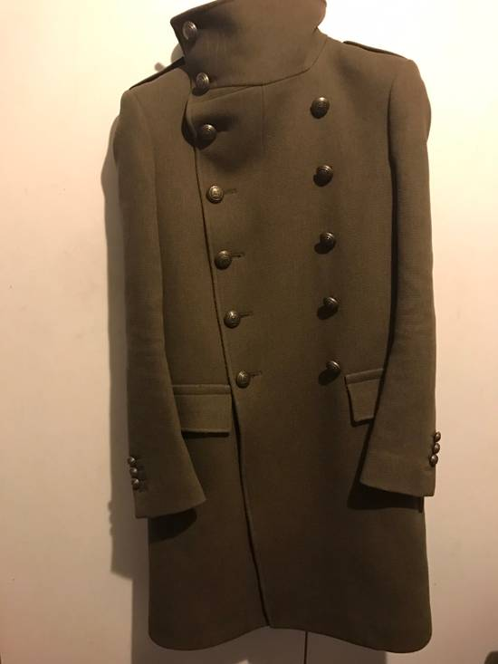 Balmain Balmian Army Green Chief Coat (heavy Thread!) Size US S / EU 44-46 / 1 - 5