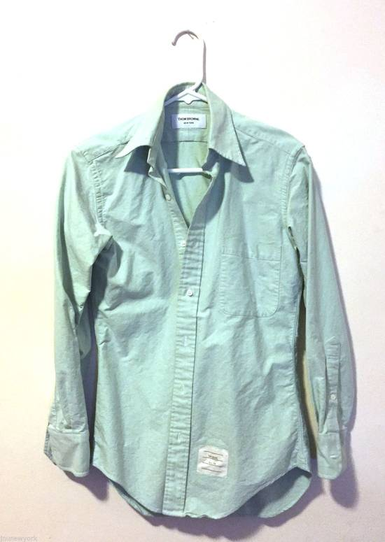 Thom Browne mint shirt Size US XS / EU 42 / 0
