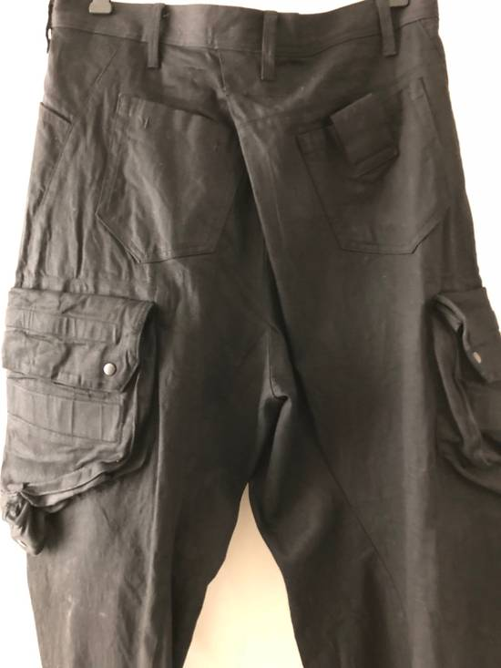 "Julius ""FINAL SALE"" NEW WITH TAG, GAS-MASK CARGO PANTS ""RARE"" Size US 34 / EU 50 - 7"