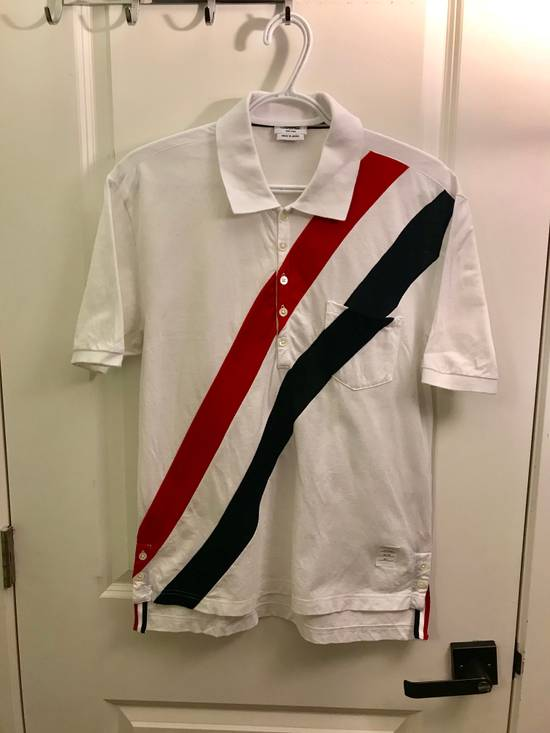 Thom Browne Strip polo Size US L / EU 52-54 / 3