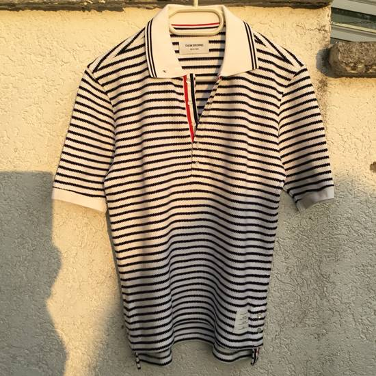 Thom Browne $599 THOM BROWNE POLO SHIRT RIBBED *** NEW *** Size US L / EU 52-54 / 3