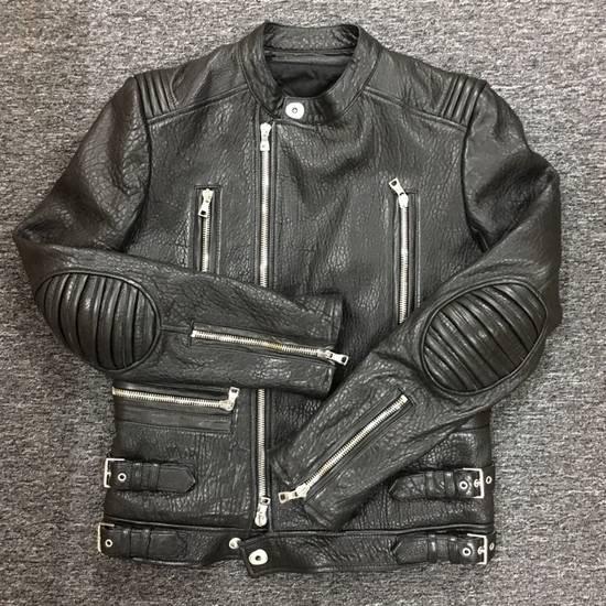 Balmain 2014FW Lambskin Biker Jacket Size US M / EU 48-50 / 2