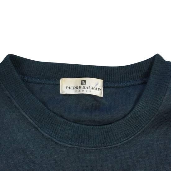 Balmain Pierre Balmain Sweatshirt Navy Size US L / EU 52-54 / 3 - 2