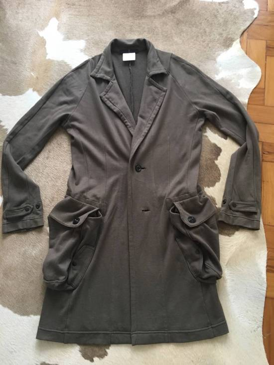 Julius Japan made long jersey oversize Popper fastening Gasmask pocket jacket Size US S / EU 44-46 / 1