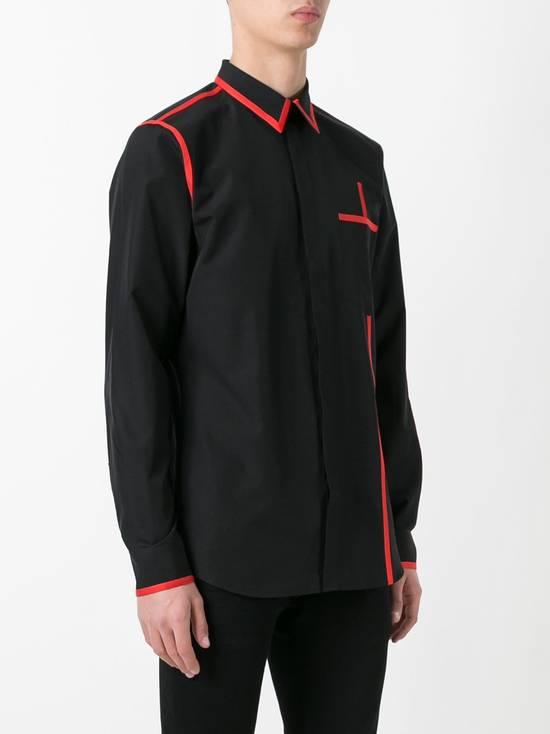 Givenchy Contrast trim shirt Size US S / EU 44-46 / 1 - 1