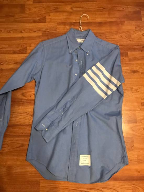 Thom Browne Blue Four Bar Long Sleeves Size US M / EU 48-50 / 2