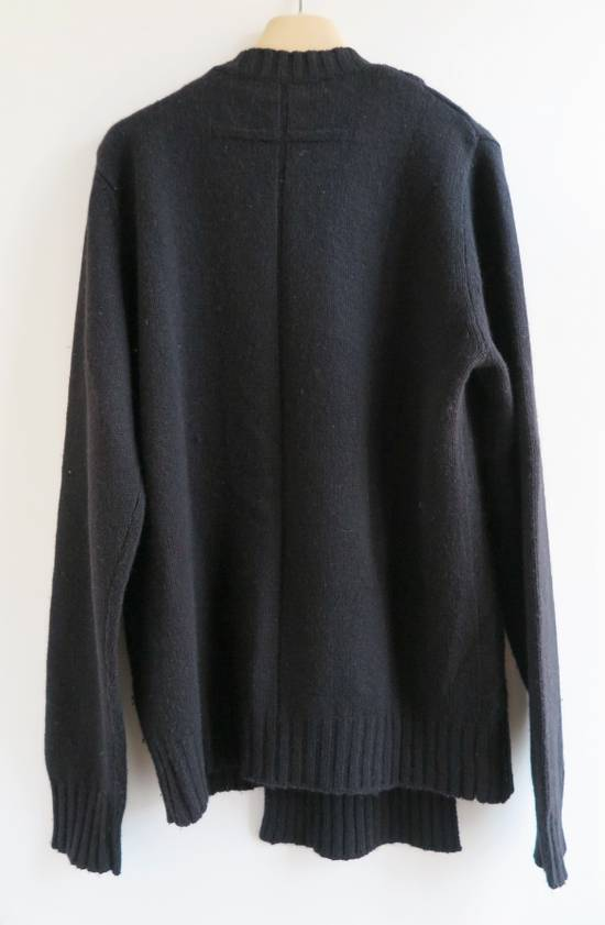 Givenchy GIVENCHY BLACK CASHMERE WOOL CABLE KNIT SWEATER Size US S / EU 44-46 / 1 - 3