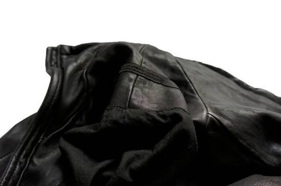 Julius JULIUS _7 ma high neck black lamb biker jacket slim fit Japan Size US S / EU 44-46 / 1 - 22