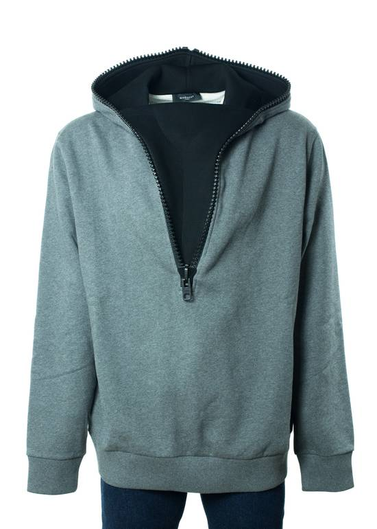 Givenchy Givenchy Men's 100% Cotton Gray Zipper Sweater Size US XL / EU 56 / 4