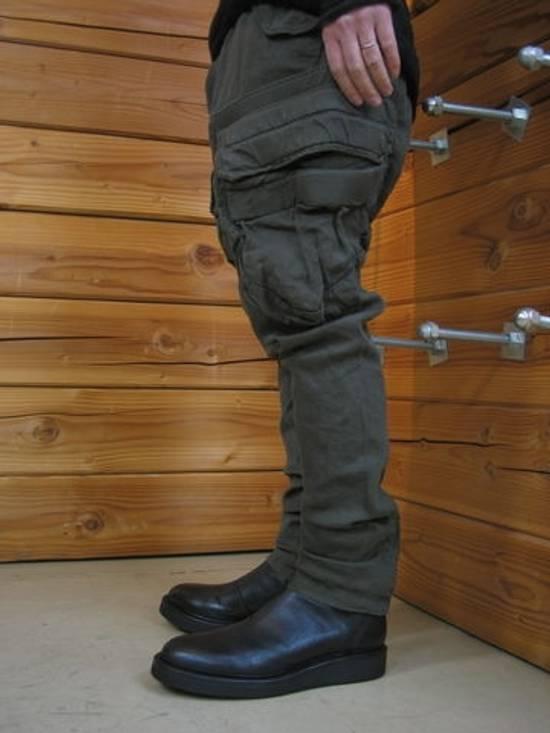 Julius Green Linen Blend Gas Mask Cargo Pants Size US 30 / EU 46 - 12