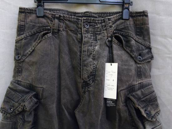 Julius Green Denim Gas Mask Cargo Pants s/s 13 Size US 31 - 1