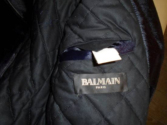 Balmain Calf-Hair Biker Jacket. Size US M / EU 48-50 / 2 - 11