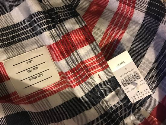 Thom Browne Plaid Long Sleeve Buttoned Shirt Size US XS / EU 42 / 0 - 3