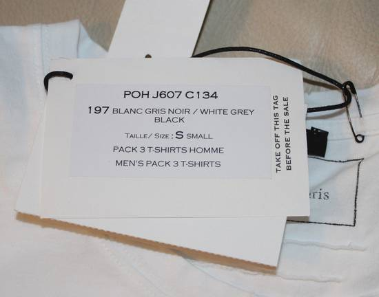 Balmain Balmain 3 Pack Distressed Cotton T-Shirts Size Small Brand New White Black Gray Size US S / EU 44-46 / 1 - 3
