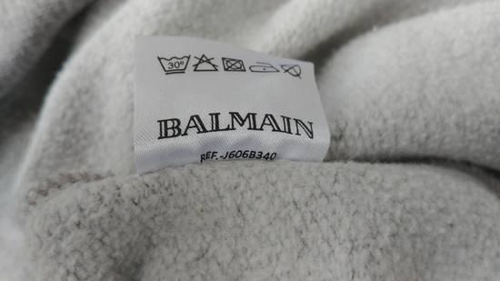 Balmain FW10 Balmain Grey Destroyed Distressed Decarnin Era Men's Hoodie size L (XL) Size US L / EU 52-54 / 3 - 11