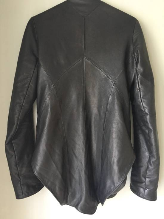 Julius Textured Lamb Leather Jacket Size US XS / EU 42 / 0 - 4