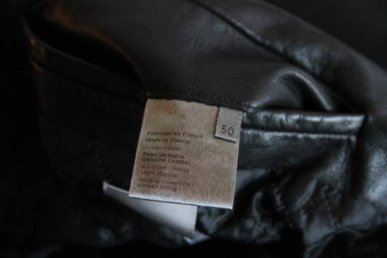 Dior AW05 Dior Homme 'L-Zip' Leather Motorcycle Biker Jacket Sz 50 Size US M / EU 48-50 / 2 - 8