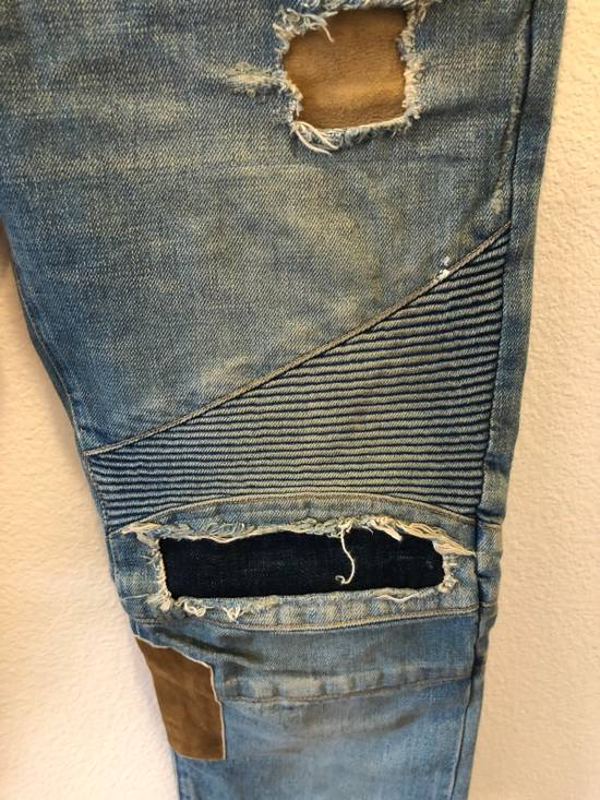 Balmain Patchwork Jeans Size US 30 / EU 46 - 6