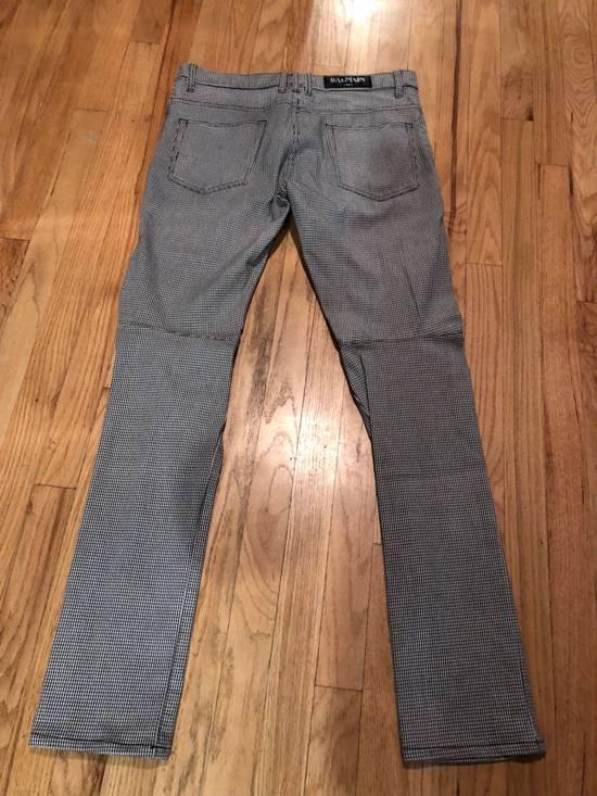 Balmain Balmain Biker Pants Houndstooth Size US 32 / EU 48 - 3