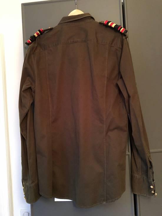 Balmain Shoulder Detailed Military Inspired Shirt Size US L / EU 52-54 / 3 - 1