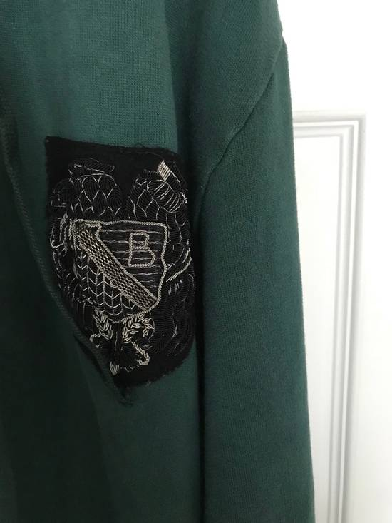Balmain Embroidered Crest Side Zip Hoodie Size US L / EU 52-54 / 3 - 14