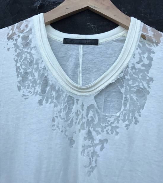 Julius Distressed Silk Blend Jersey Size US S / EU 44-46 / 1 - 2