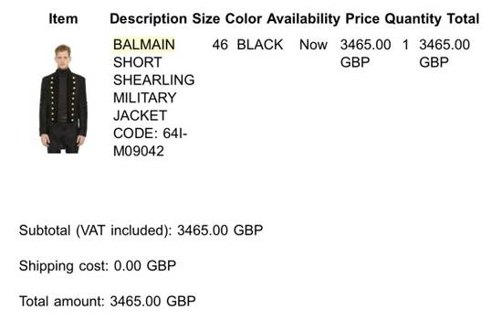 Balmain Shearling jacket Size US S / EU 44-46 / 1 - 7