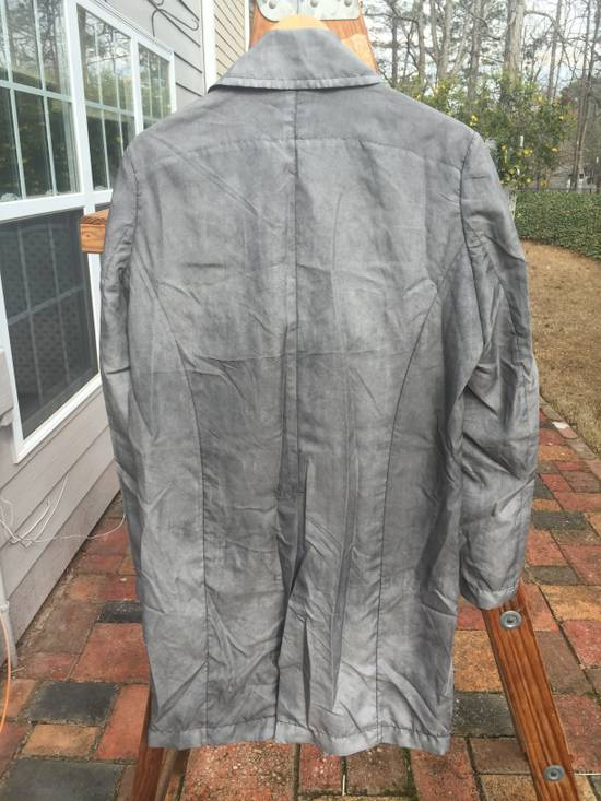 Julius SS14 Silk/Nylon Dusty Grey Coat Size US M / EU 48-50 / 2 - 9