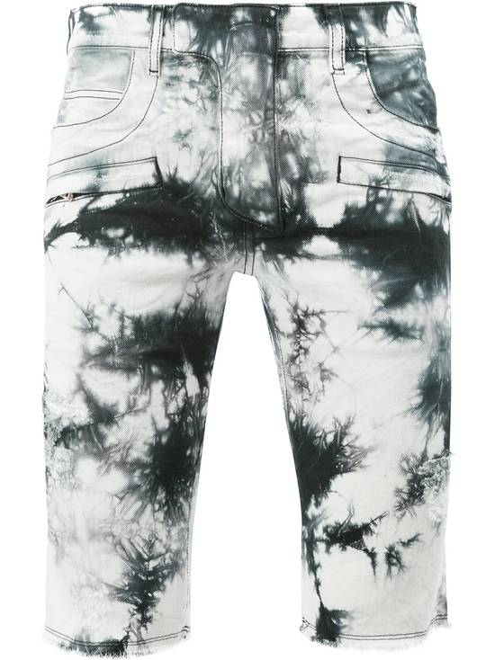 Balmain Black Tie Dye Shorts Size US 30 / EU 46 - 1