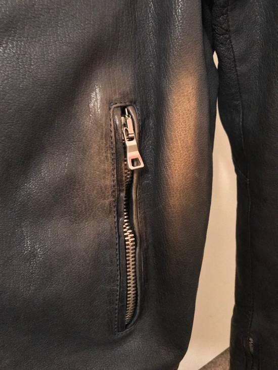 Balmain Navy Balmain Leather Jacket Size US S / EU 44-46 / 1 - 5