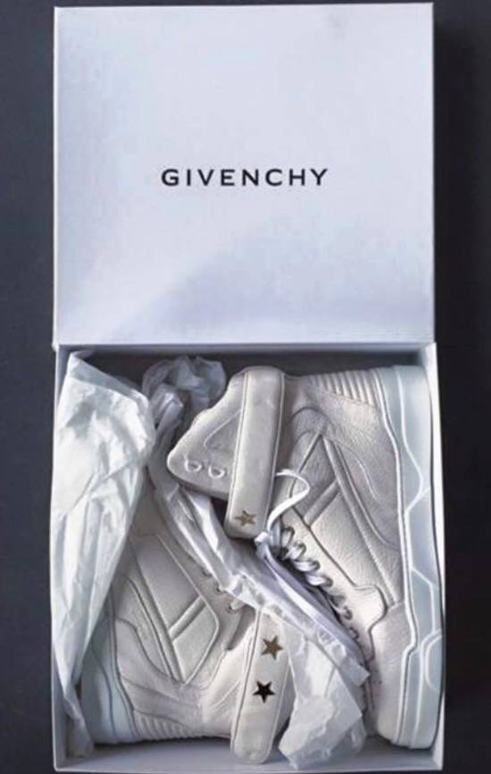 Givenchy Grain. Goat Optic Wht. Size US 7.5 / EU 40-41 - 2