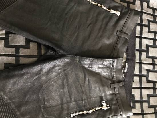 Balmain !Need Gone! Balmain Bikers Waxed Fits 29-31 Size US 29 - 3