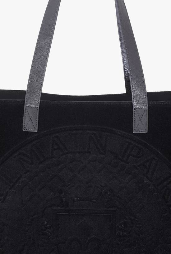 Balmain Embossed Velvet Bag Size ONE SIZE - 6