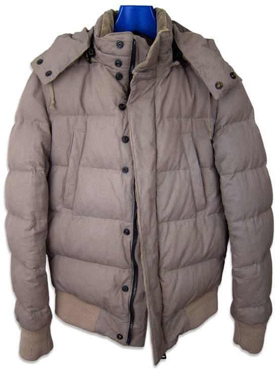 Balmain AW11 Khaki Military Down Jacket sz. 44 Size US XS / EU 42 / 0 - 3