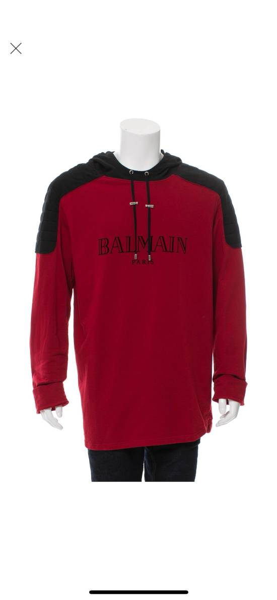 Balmain Balmain Hooded Logo Sweatshirt Size US XXL / EU 58 / 5