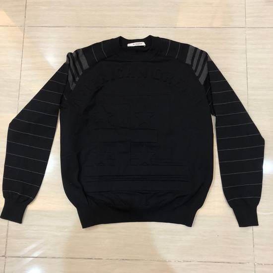 Givenchy Black American Dream Embossed Sweatshirt Size US L / EU 52-54 / 3 - 2